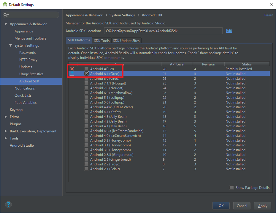 Android Studio SDK Manager SDK Platforms.png