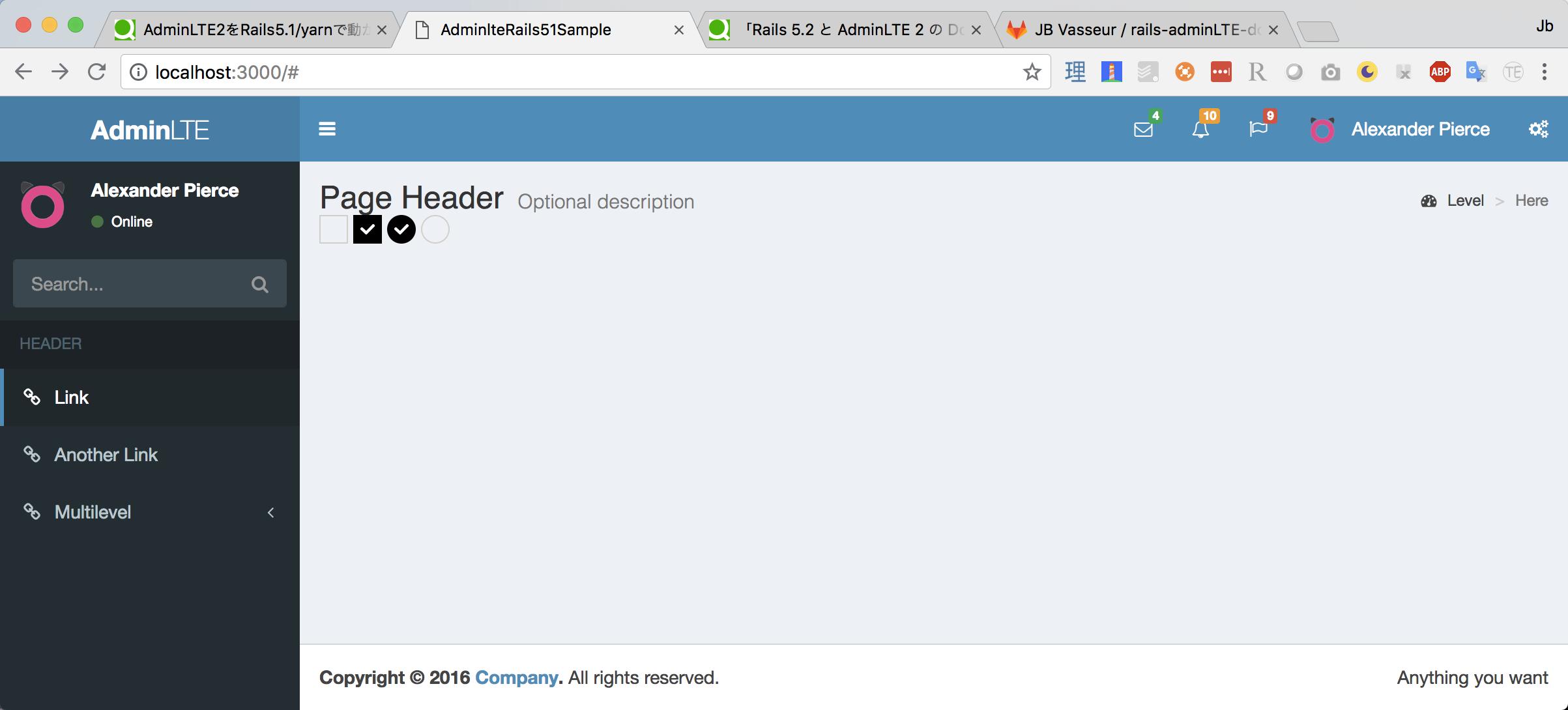 Rails 5 2 と AdminLTE 2 の Docker 開発環境を作る - Qiita