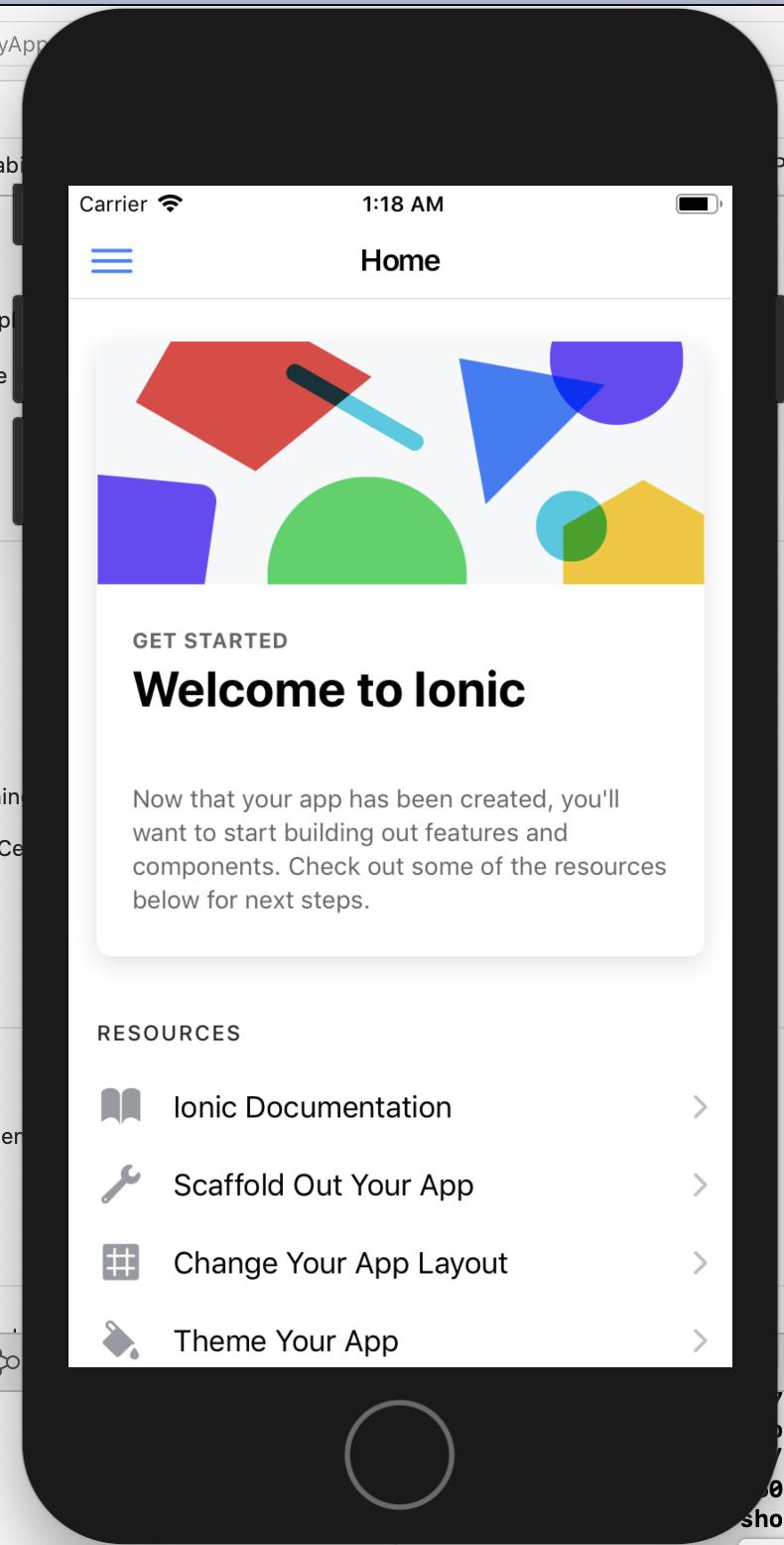 DockerでIonicチュートリアル(iOS実行ファイルビルドまで) - Qiita