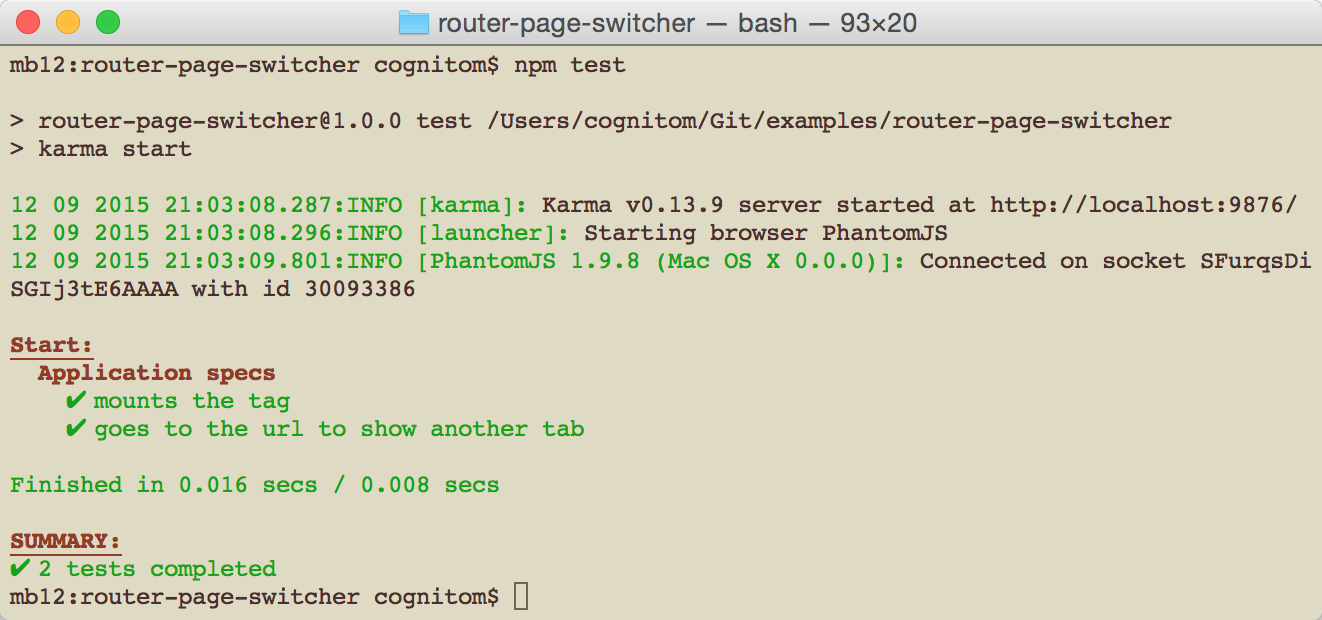 router-page-switcher — bash — 93×20.png