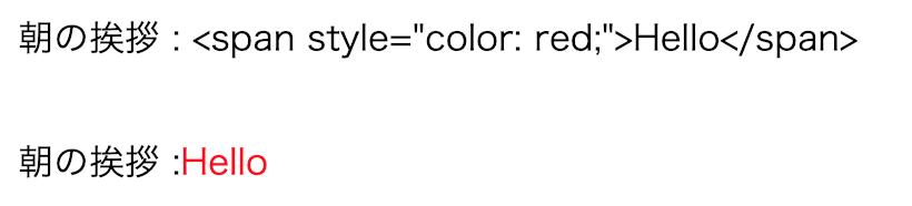 v-htmlディレクティブを使用する