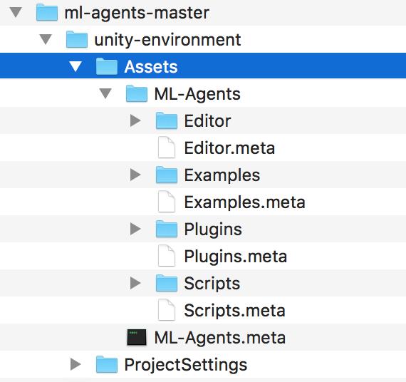 Unityで機械学習やってみる(ML-Agents) 最初のサンプル動かす