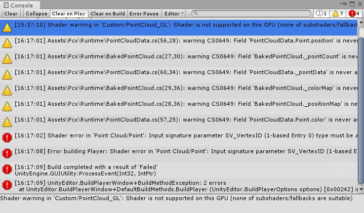 Unity】Pcxで読み込んだ点群をWebGL上で表示する - Qiita