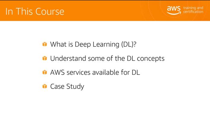 AWS ML University の Deep Learning についてのコンテンツを訳してみた