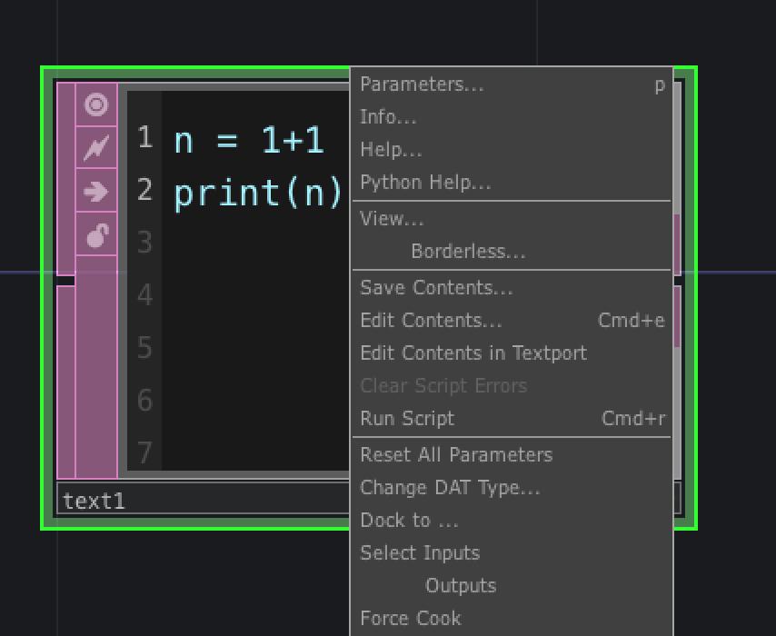 touchdesignerでpythonコードとdat間で入出力する qiita