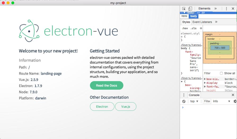 2017年度版 electron-vueで始めるVue js - Qiita