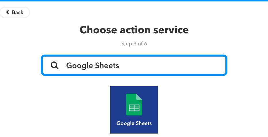 Google Sheetsを検索