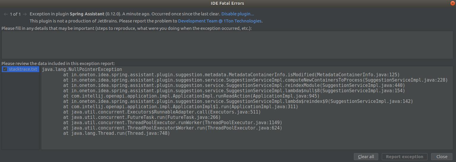 試行】KotlinとSpring Bootの組み合わせでIntelliJプロジェクト