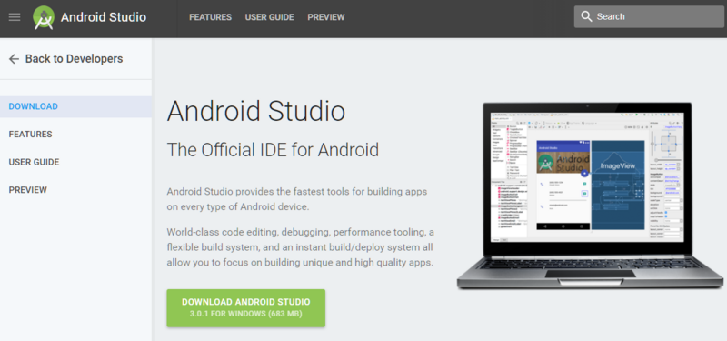 08-Android Studio Download site