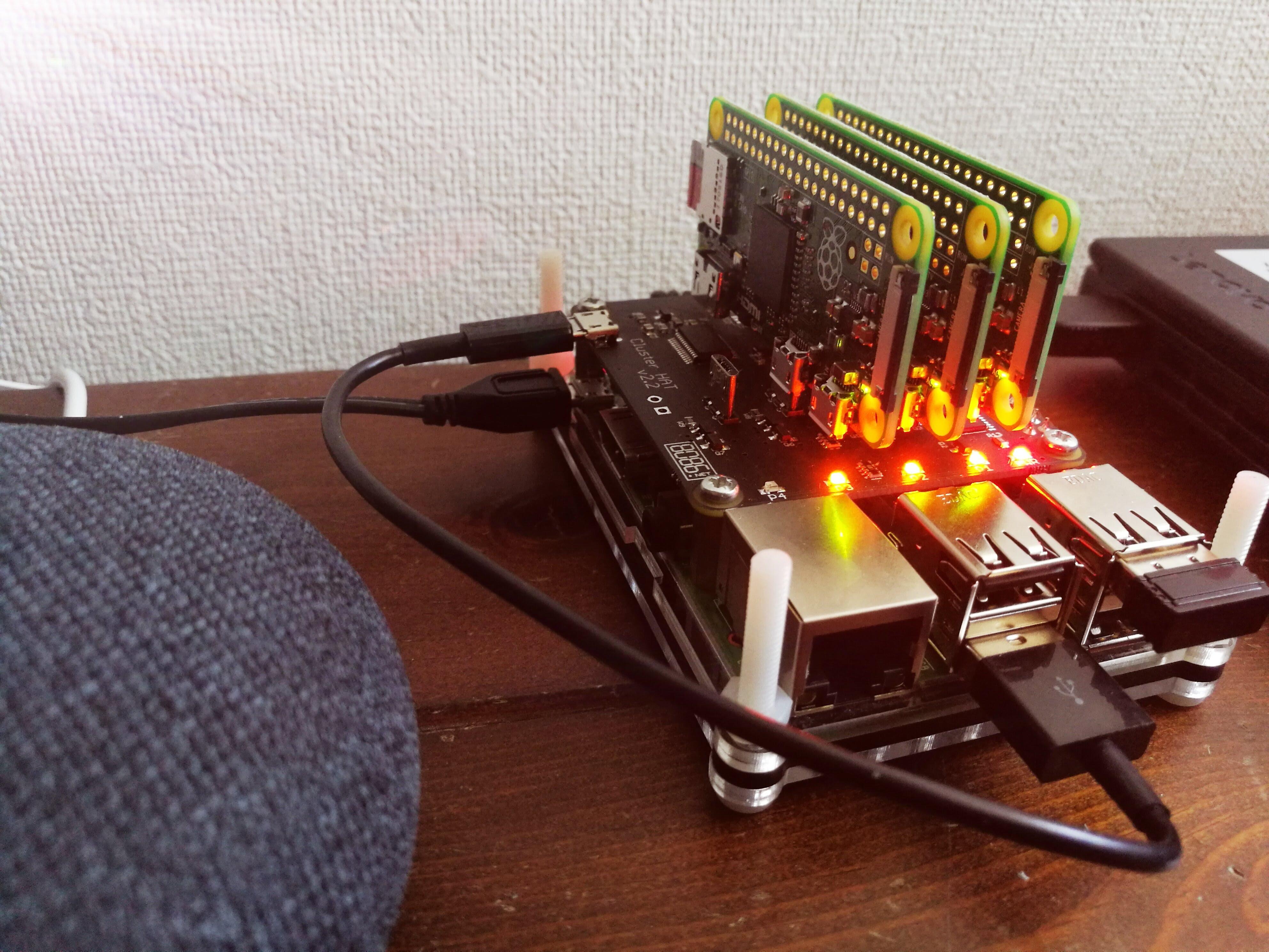 ClusterHATを使って世界最小Kubernetesクラスタを構築する