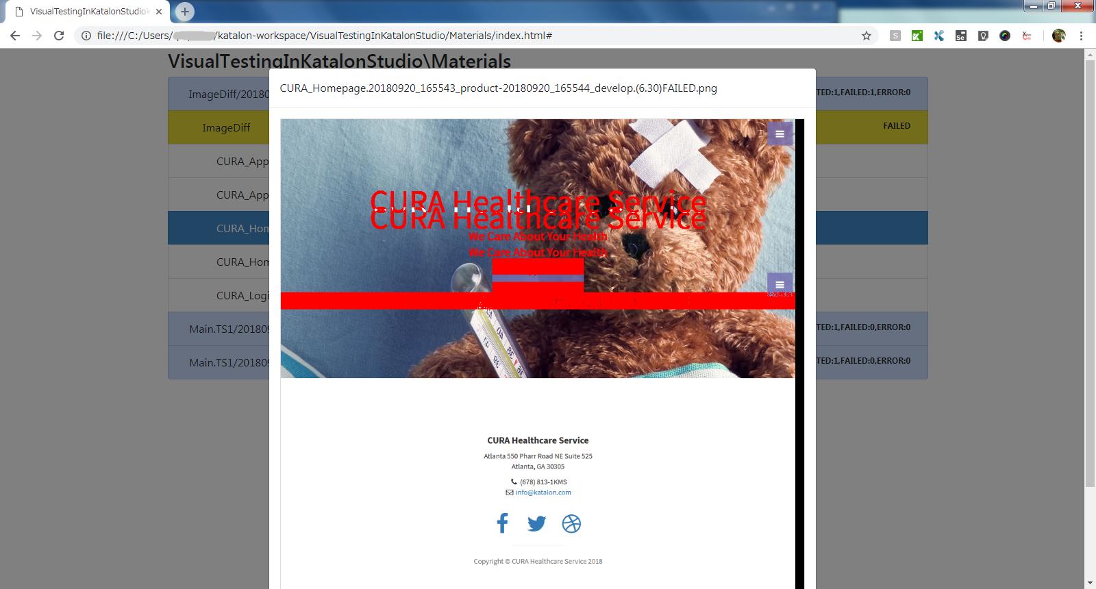 ImageDiff_CURA_Homepage.png