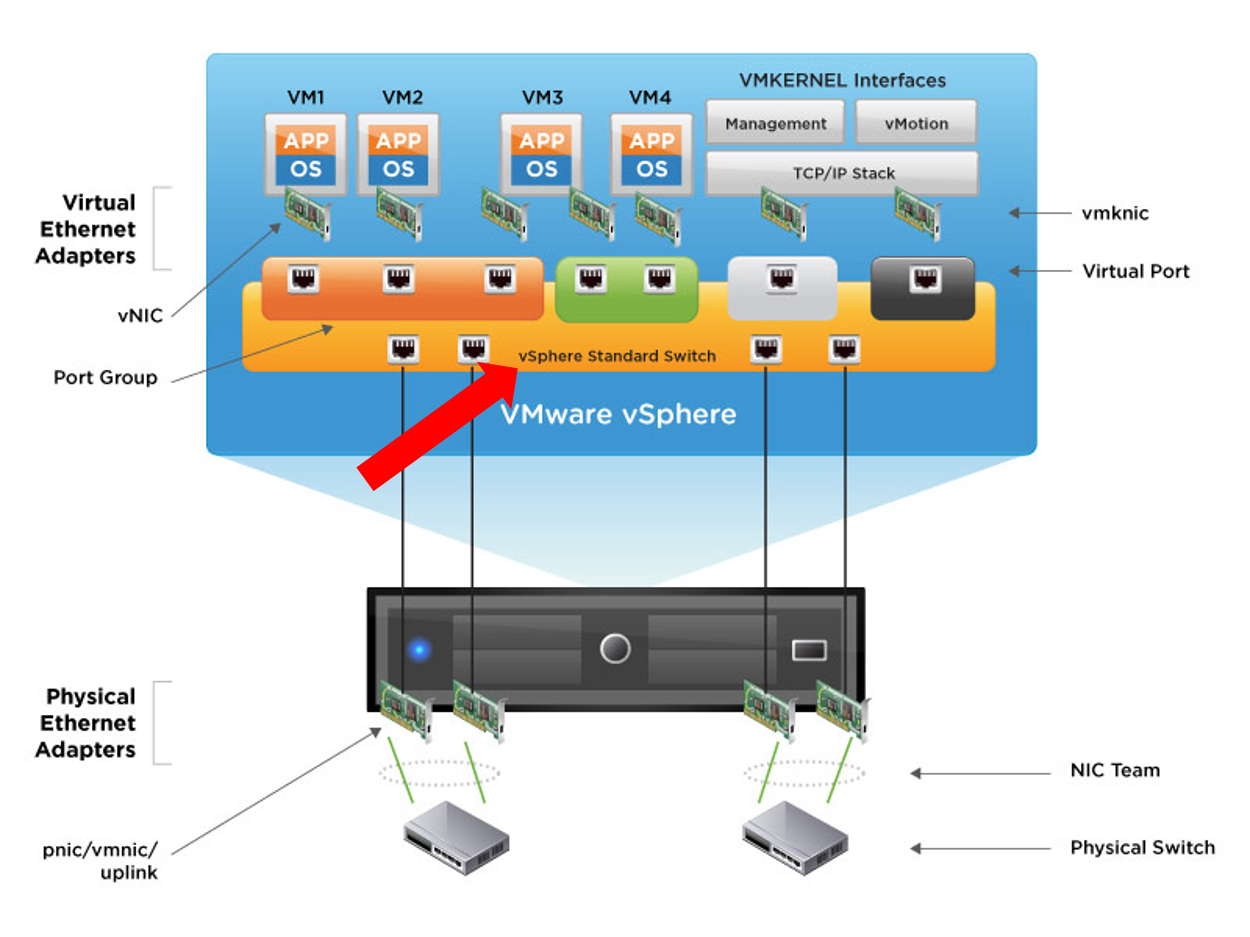 VLAN Network Basic of VxRail/vSphere Environment
