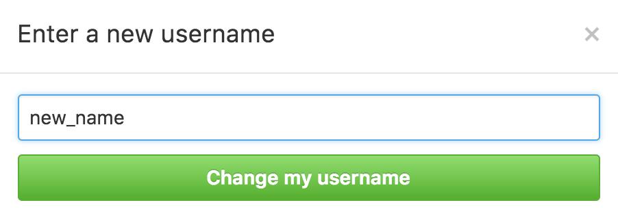 GitHubやBitbucketのユーザー名を変更する方法とその後やること