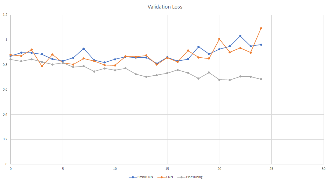 Validation loss