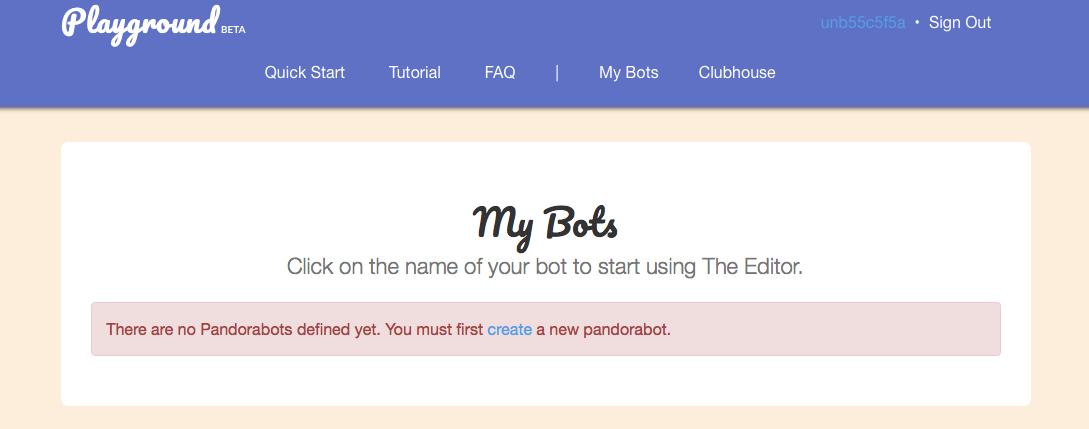 Pandorabotsでルールベースのチャットボット作成 - Qiita