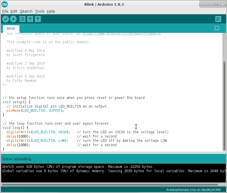Arduino uno と arch linux を接続 qiita