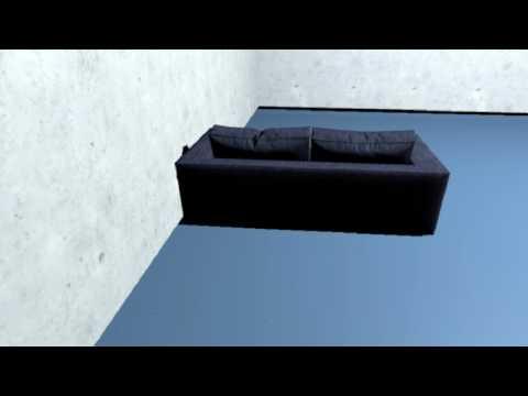 重心方向に移動するVR-360度の移動