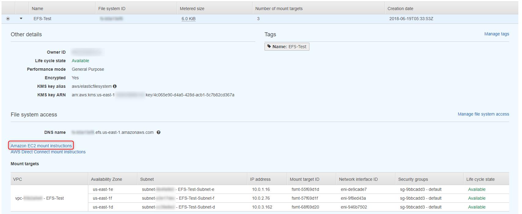 Amazon Elastic File System(Amazon EFS)に触ってみた - Qiita