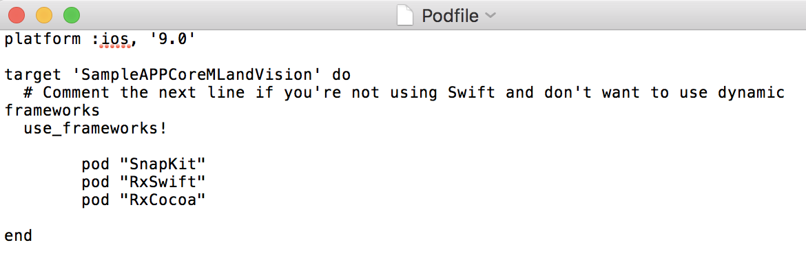 Swift - Realtime Detection and Prediction App Using Core