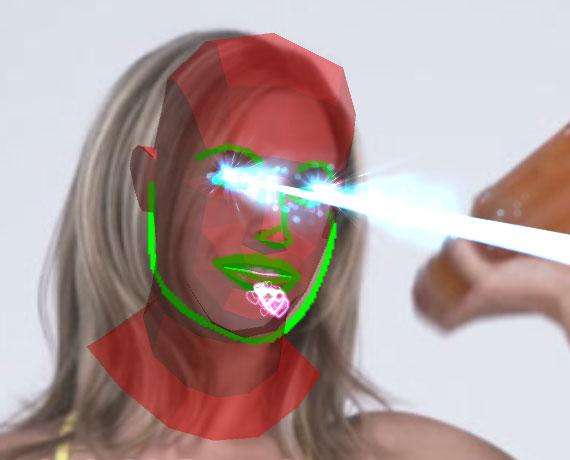 UnityでDlibFaceLandmarkDetectorを利用した顔器官検出アプリ