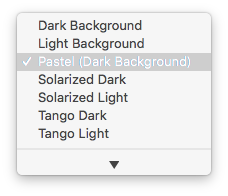 iTerm Color Presets