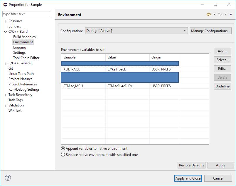 STM32メモ]uVisionのプロジェクトをEclipseで編集する - Qiita