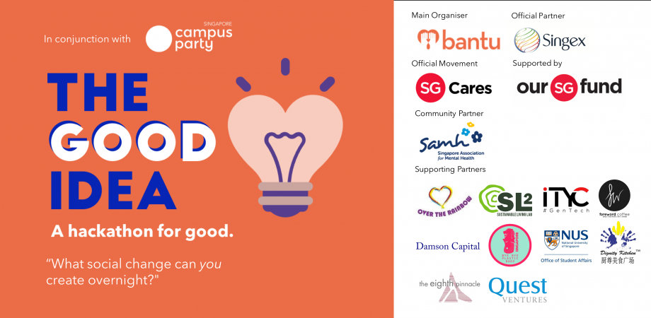 The Good Idea: A Hackathon For Good