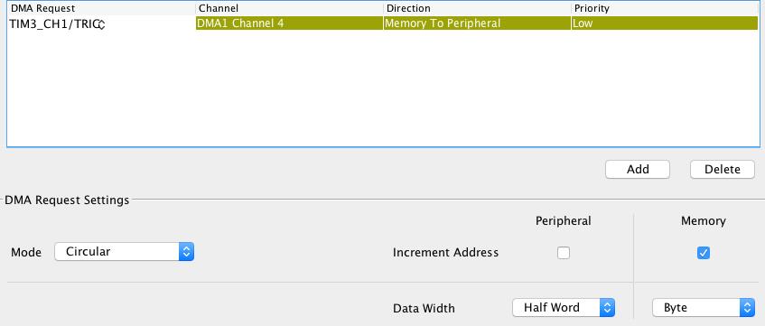 STM32のタイマとDMAを組み合わせてNeoPixelでLチカする - Qiita