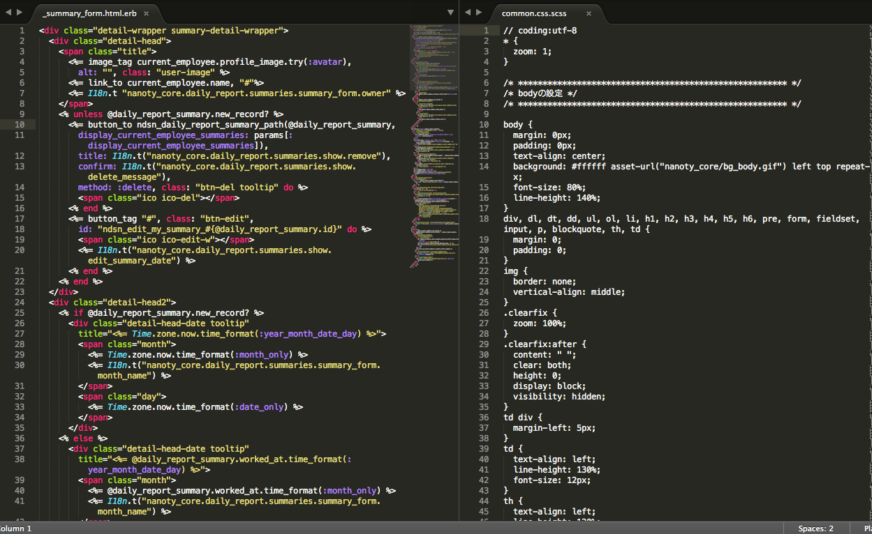sublime text 3 mac zoom