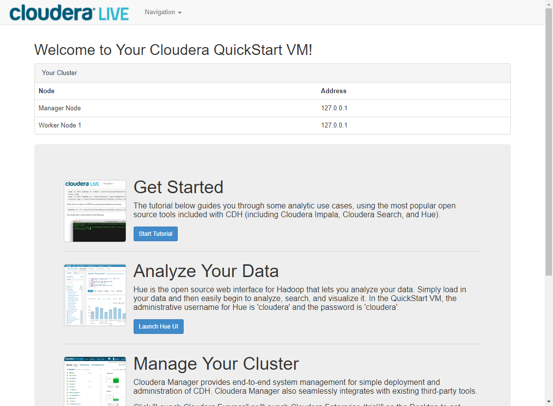 Cloudera QuickStart VMs (Docker)をAWS上で動かす - Qiita