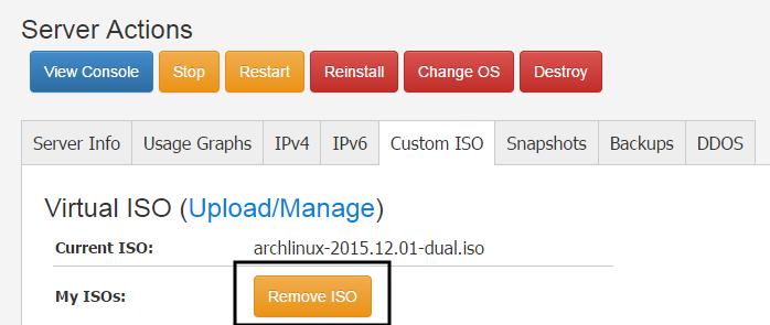 クラウド環境でArchLinuxを使う (Vultr編) - Qiita