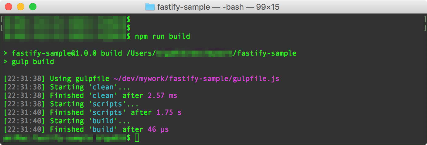 fastify-sample_—_-bash_—_99×15.png
