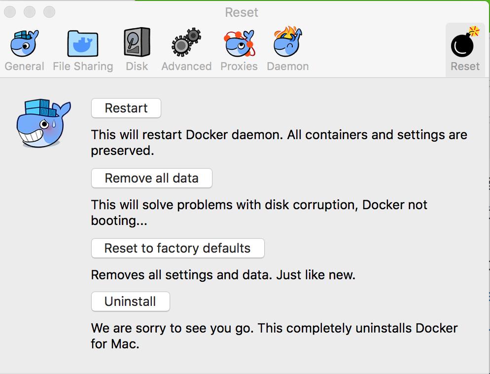 Docker for Mac の CPU 使用率が異常に高いままになる問題 - Qiita