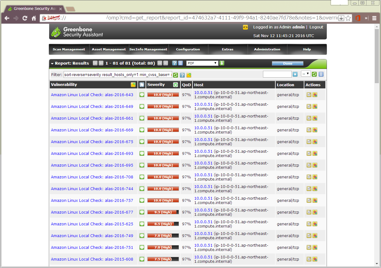 Vuls・OpenVAS・Amazon Inspectorを徹底比較 - Qiita