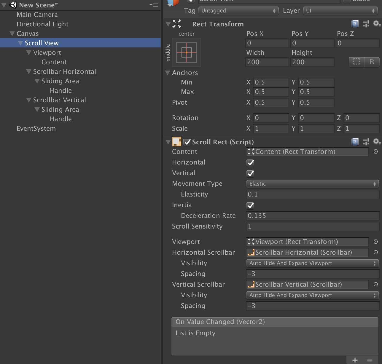 Unity uGUI] スクロールビューの基本と軽量なスクロールリスト