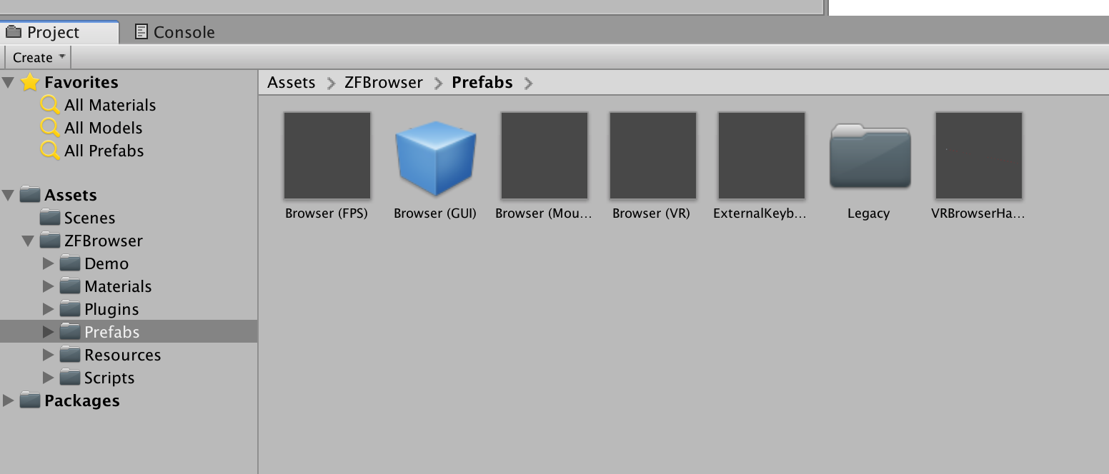 browserprefab