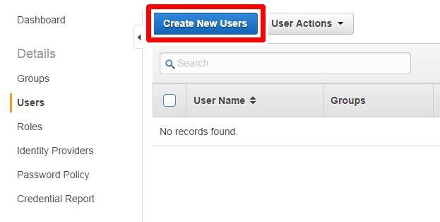Create New Users