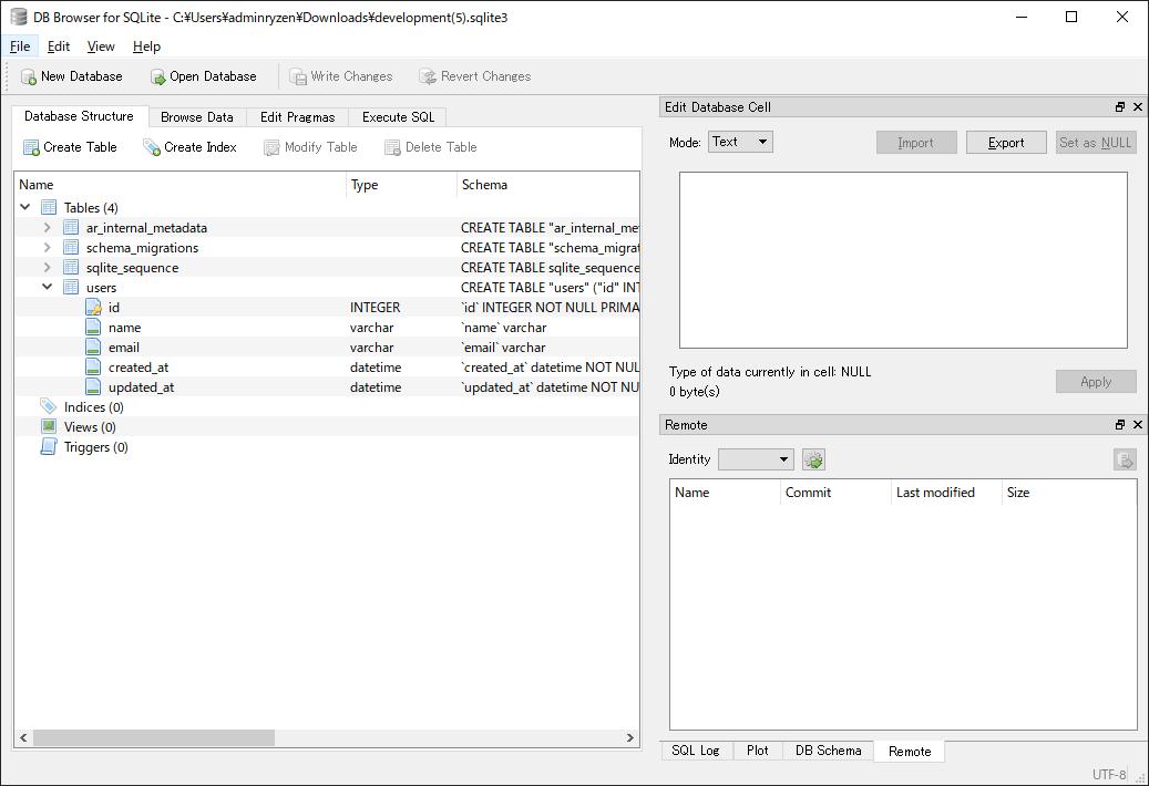 SnapCrab_DB Browser for SQLite - CUsersadminryzenDownloadsdevelopment(5)sqlite3_2019-4-10_12-19-31_No-00.png