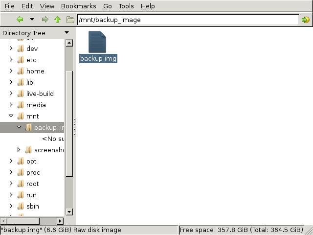 ファイルサイズの確認