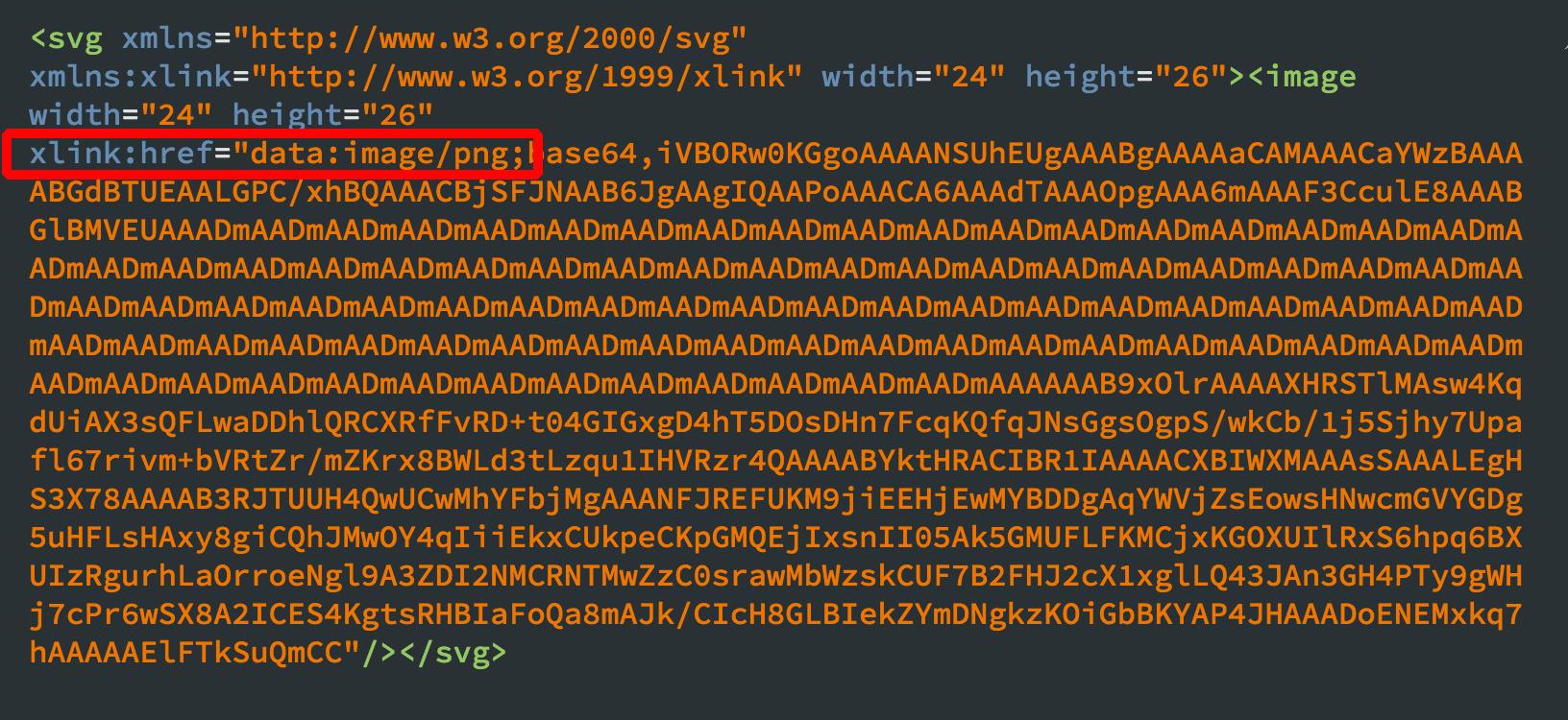 xlink:href属性を赤枠のように書き換えよう