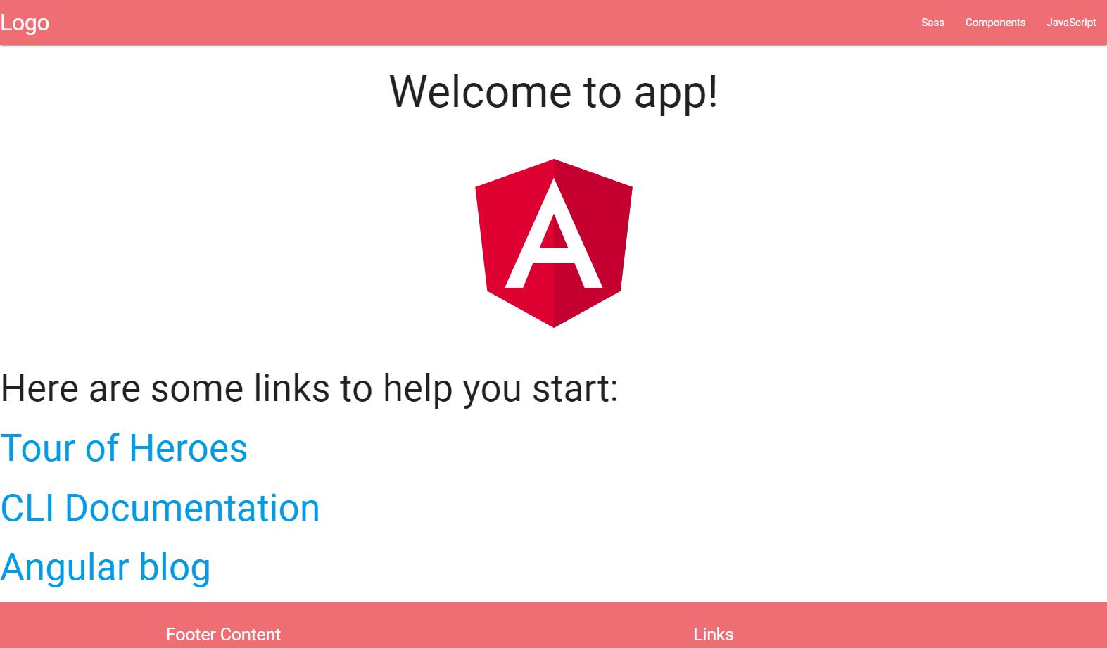 Angular 5 (with materialize)をWindows 10で簡単にはじめる