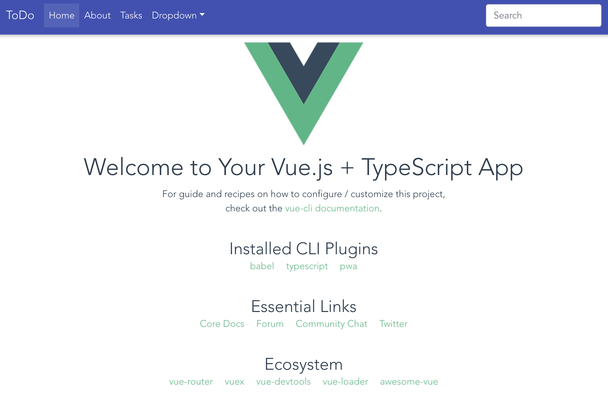 Material Design for Bootstrap 4 (Vue version)を導入してみる