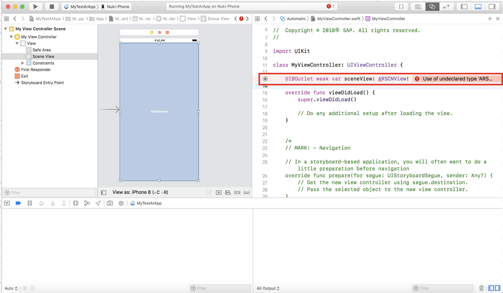 How to build the iOS App that displays SAP S/4HANA data as