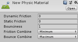 New Physic Material(Inspecter)