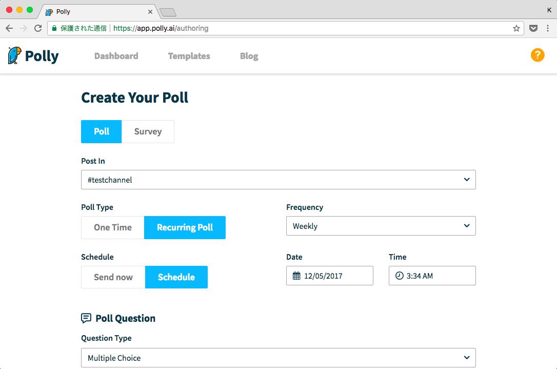 web-create-setting