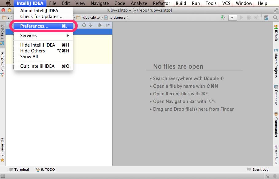 IntelliJ IDEA 13にRubyプラグインをインストール - Qiita