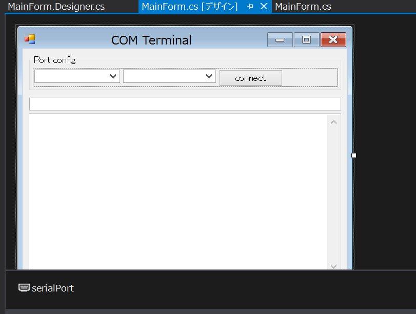 C#(VS2013 Community,  NET4 5 1)でArduinoとシリアル通信する