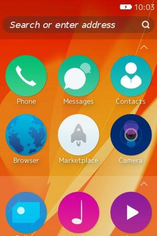 Firefox OS デスクトップクライアント「b2g」を Linux ( Fedora