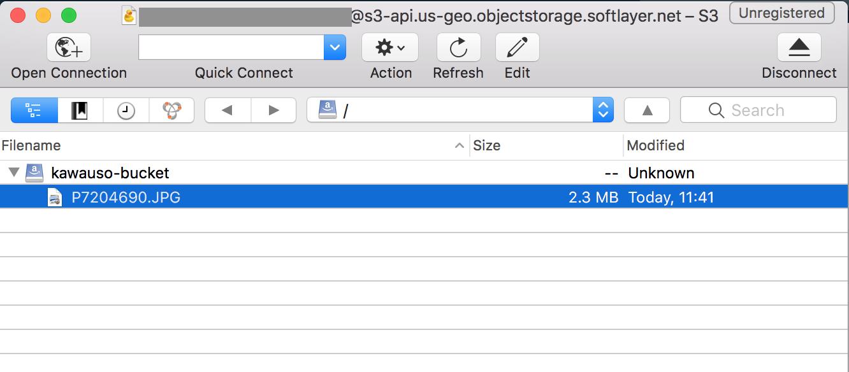 Bluemix Cloud Object Storage(S3 API互換) を試してみる - Qiita