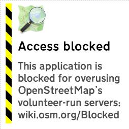 アクセスブロック時に表示される画像